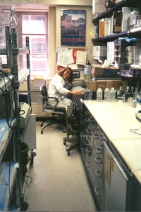 In my NIH lab writing up experiments