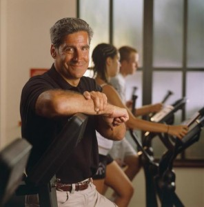 Augie Nieto, founder of Life Fitness, before his diagnosis.